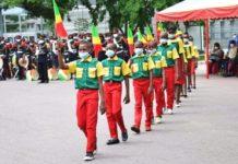 La célébration de la proclamation de la République du Congo a donné lieu à une cérémonie en format réduit ce 28 novembre à la place de la République, sous l'égide du président Denis Sassou N'Guesso. Le contexte Covid-19 a influencé quelques us et coutumes liés au rituel de cette célébration. D'où l'on a constaté l'absence du grand public, l'ambiance folklorique des groupes et orchestres de tout genre. Cependant, le caractère symbolique a été préservé. Cela, par la levée du tricolore national, la disposition des troupes d'honneur ainsi que la présence des corps constitués et diplomatiques. La 10e édition des 62 ans de la naissance de la République a eu un caractère bref, mais solennel autour du thème « L'unité, la paix et le patriotisme, pour consolider la République et vaincre la Covid-19 ».