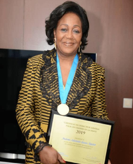 Antoinette Sassou N'Guesso Fresque Congolaise