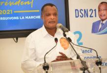 Denis sassou N'Guesso rend hommage à Guy Brice Parfait kolélas First Médiac