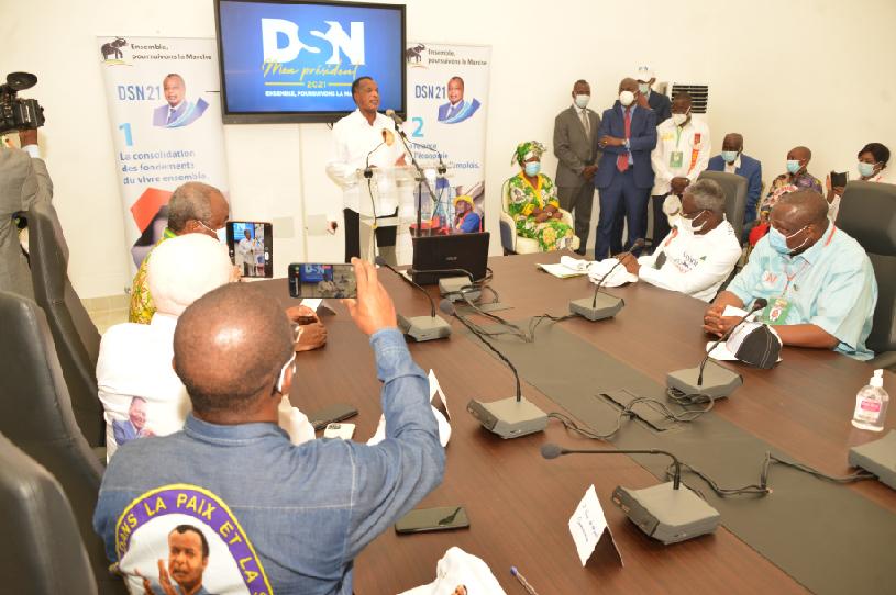Denis sassou N'Guesso rend hommage à Guy Brice Parfait kolélas First Médiac First Médiac