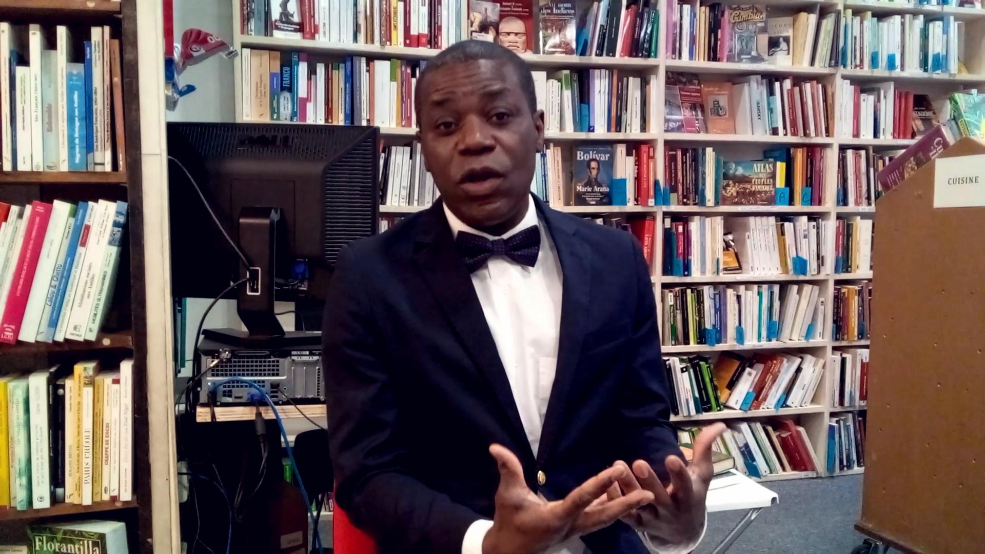 FRESQUE CONGOLAISE_RICHARD OSSOMA-LESMOIS EN PARLE SUR FIRST MEDIAC